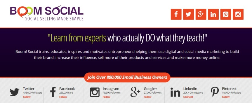 Boom Social Social Selling Made Simple