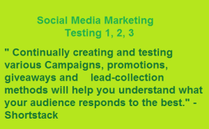 Social Media Marketing Testing Campaigns